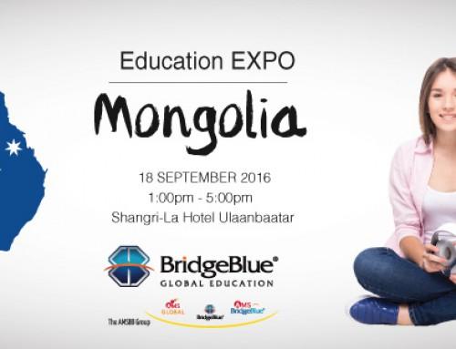 """""""Брижблү Монголия"""" 8 дахь удаагийн """"Австрали болон Америкт суралцацгаая"""" боловсролын үзэсгэлэн яармаг"""