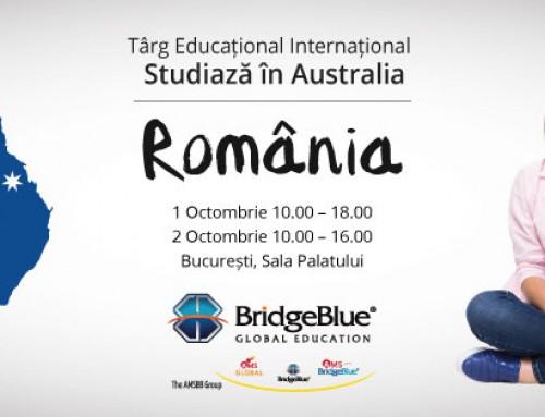 Studiază în Australia la Târgul Educațional Internațional RIUF, Sesiunea Toamnă 2016, București